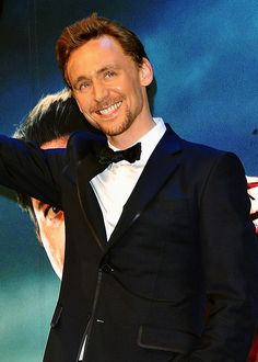 It's the Hiddles smiles.