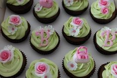 Cupcakes for a friend