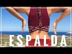 Los 4 Mejores Ejercicios para Reducir los Rollitos de tu Espalda - YouTube