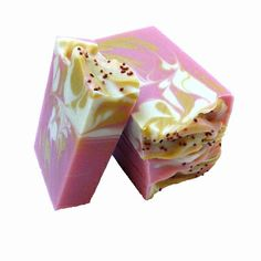 Cranberry & Fig Soap. Beautiful swirls!