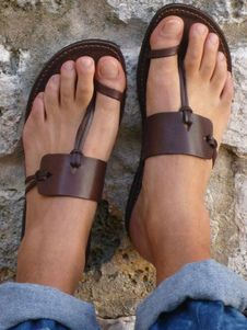 82a4c0d3fb11bb Tan Sandal Slides Women Flat Sandals Toe Loop Strappy Sandal Slippers