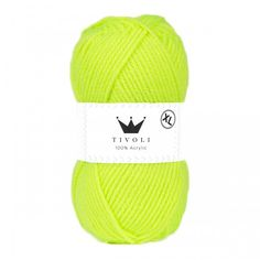 Tivoli XL from Hobbii Knit Or Crochet, Crotchet, Neon Yellow, Little Sisters, Mittens, Favorite Color, Finding Yourself, Winter Hats, Beanie