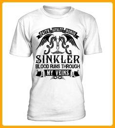 SINKLER My Veins Name Shirts - Shirts für singles (*Partner-Link)