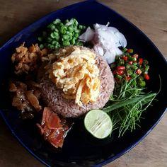 #ข้าวคลุกกะปิ #thaifoodbypear