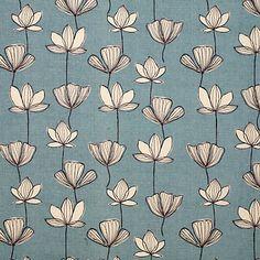 Buy John Lewis Gingko Fabric, Mineral online at JohnLewis.com - John Lewis