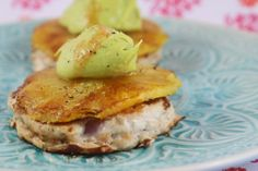 More than Words: Turkey Open Burger with Chargrilled Pineapple and Avocado Cream Turkey Mince, Avocado Cream, Eating Clean, Pineapple, Fresh, Breakfast, Food, Morning Coffee, Eat Healthy