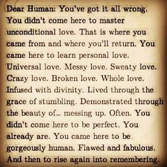Dear Human: You've got it all wrong.