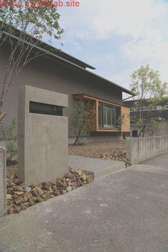 Facade Design, Exterior Design, Interior And Exterior, House Design, Japan Architecture, Interior Architecture, Dry Garden, Exterior Siding, Japanese House