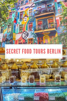 Secret Food Tours Berlin, Germany - Explore Berlin whilst eating Schnitzel, Currywurst whilst enjoying a glass of wine or beer #travelblog #foodie #tours