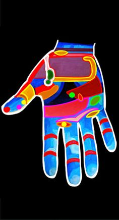 Interactive reflexology map - learn how the hands are connected to different points on the body