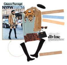 """No 320:Best NYFW Street Style"" by lovepastel ❤ liked on Polyvore featuring Acne Studios, Chiara Ferragni, Vivienne Westwood Anglomania, Gucci, Stuart Weitzman, Hermès, women's clothing, women, female and woman"
