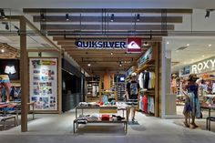 Quiksilver store in Yokohama by Specialnormal inc.