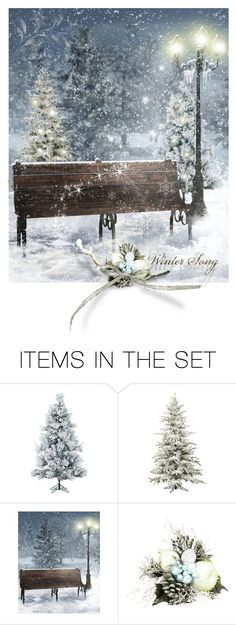 """""""Winter Song"""" by hedelmiina ❤ liked on Polyvore featuring art and Christmas Winter Songs, Polyvore, Christmas, Outdoor, Followers, Shops, Design, Friends, Women"""
