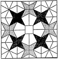 Nancy Cabot (1906-1958) made about 1360 quiltblocks. Here is one and more on the website earlywomenmasters.net....Crown of Stars