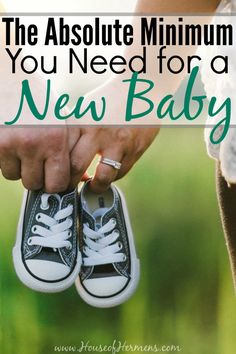 This is great! I spent way too much money on stuff for my first born, and I wish I hadn't. You really only need these 5 things!