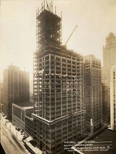 Home insurance building william le baron jenney 1885 for Home under construction insurance