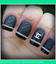 channel inspired nail art ideas - Google Search