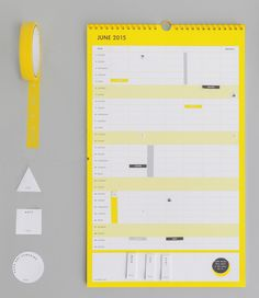 Family organisation gets easy with this gorgeous Hello Yellow Family Calendar. Manage the kids' schedules and get everyone involved! Stationary Organization, Organisation Ideas, Life Organization, Family Calendar, Kikki K, Organising, Best Relationship, Positive Attitude, Time Management