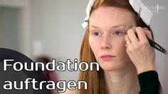 Foundation auftragen - Make-up Tutorial - fashionradar.tv
