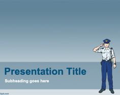 45 best professions powerpoint templates images on pinterest police powerpoint template is a free law enforcement powerpoint presentation template for free that you can toneelgroepblik Image collections