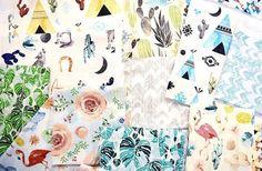 Summer Punch & Desert Dawn: Hoffman Fabrics Screen Print Collections