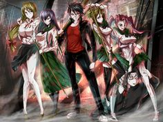 My Favorite Anime: Highschool of the Dead ( 学園黙示録 )