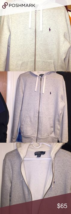 Polo Ralph Lauren Heavy Hooded Sweatshirt/Coat Very warm. Heavy in weight. This isn't just a hoodie. Could be worn as a jacket/Coat. Paid a lot for and only used a few times. You will love! No defects. Polo by Ralph Lauren Jackets & Coats Lightweight & Shirt Jackets