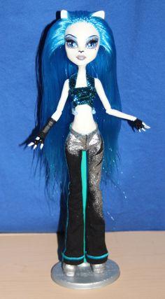 Tabitha Claws Monster High custom ooak doll by mythicalmommy1717