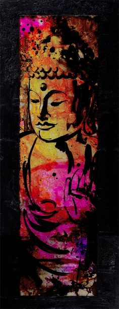 SUPER SALE ... was 300.00... Buddha... by KathyMortonStanion, $155.00