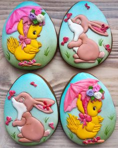 Нет описания фото. No Egg Cookies, Paint Cookies, Easter Cookies, Fun Cookies, Sugar Cookies, Royal Icing Decorated Cookies, Sugar Cookie Icing, Wedding Cookies, Biscotti