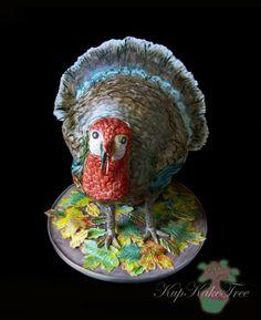 https://flic.kr/p/dtUnLN | 3D Thanksgiving turkey