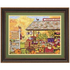 Buck's Country Farm Stand - Cross Stitch, Needlepoint, Embroidery Kits – Tools and Supplies