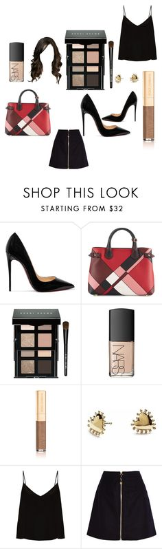"""Untitled #142"" by onedirectiontown ❤ liked on Polyvore featuring Christian Louboutin, Burberry, Bobbi Brown Cosmetics, NARS Cosmetics, Dolce&Gabbana, Agnes de Verneuil, Raey and Acne Studios"