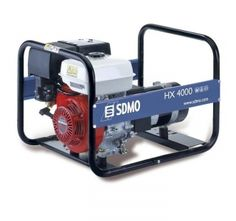 Groupe électrogène SDMO HX 4000 essence 230V 4KW Honda, Groupes