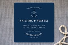 Established Union Wedding Invitations from Minted.com