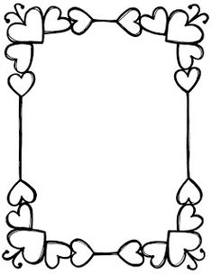 Border Design For Black Chart Paper - Border News Wallpaper HD Page Borders Design, Border Design, Borders For Paper, Borders And Frames, Doodle Borders, What Is Fashion Designing, Writing Paper, Colouring Pages, Coloring Books
