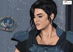 #digitaldrawing #digitalillustration #themandalorian #caradune #ginacarano #palomagr_diseño_gráfico Cara Dune, Drawing, Illustration, Disney Characters, Fictional Characters, Disney Princess, Design, Art, Photo Retouching