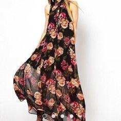 Asos Maxi Halter Dress