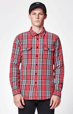 James Plaid Shirt Jacket
