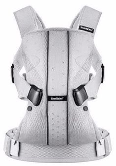 Baby Bjorn - Baby Carrier One with Teething Pad - Silver Mesh Baby Carrier One The multifunctional front and back baby carrier Baby Carrier One is our very Baby Bjorn, Backpacking Gear, Hiking Gear, Mesh Backpack, Sling Backpack, Ergonomic Baby Carrier, Mixed Babies, Baby Online, Baby Boutique