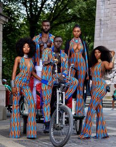 Design from kameni Claude Cameroon designer based in the US