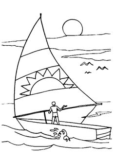 Boats - 999 Coloring Pages