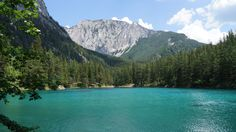 Grüner See   Green Lake in Tragöß, Austria Green Lake, Austria, Wander, Earth, River, Adventure, Nature, Outdoor, Beautiful