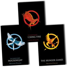 hunger games books | Hunger Games Catching Fire Mockingjay Books Collection Classic Suzanne ...