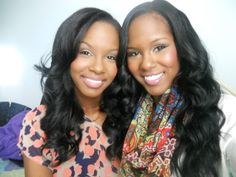 twins - Glam Twins Kendra and Kelsey Murrell: Beauty Vloggers