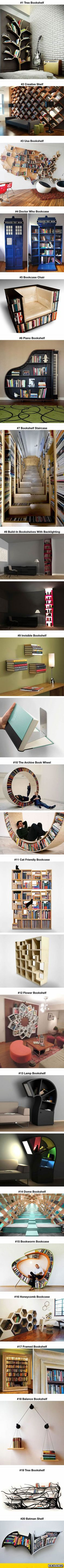 Probably The Most Creative Bookshelves Ever:
