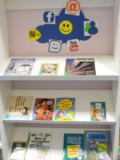 Febrero 2014: Centro de interés dedicado al  10º Aniversario de Facebook y el día Internacional de Internet seguro (Sala Infantil)