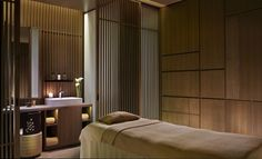 ESPA Spa at the Ritz-Carlton Kyoto draws from traditional Japanese heritage and culture. Designed in partnership with Remedios Studios.