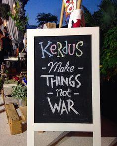 Make things not war. Hear hear.  #BismaEight  #CopperUbud #KerdusUbud #PasarPasaran #Restaurant #BoutiqueHotel #Hotel #Ubud #Bali #UbudEvent #BaliEvent #Rooftop #Arts #Crafts #SundayMarket #Sunset by bismaeight