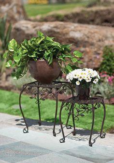 Maceteros de Herrería. Ideal para el Jardín